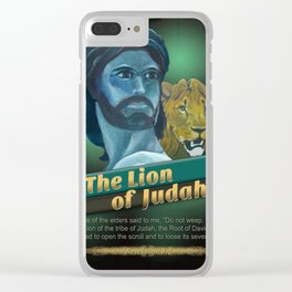 The Lion Of Judah 1 Clear iPhone Case