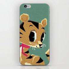 little tiger cub iPhone & iPod Skin