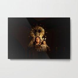 Virgin of Carmel Metal Print
