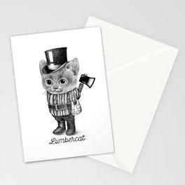 LUMBERCAT Stationery Cards