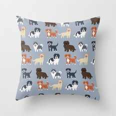 CANADIAN DOGS Throw Pillow