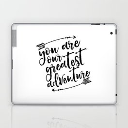 PRINTABLE Art,You Are Our Greatest Adventure,Arrow Print,Nursery Decor,Typography Print,Quotes Laptop & iPad Skin