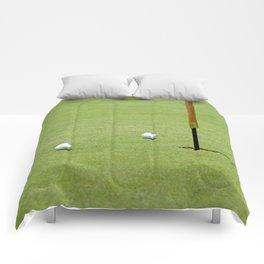 Golf Pin Comforters