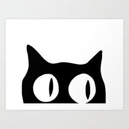 HIDDEN CAT 01 Art Print