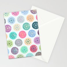 Watercolor Lovely Pattern V Stationery Cards