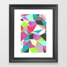 Geomesh 02 Framed Art Print
