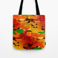 blackhawks Tote Bags featuring Here come the... by KRArtwork