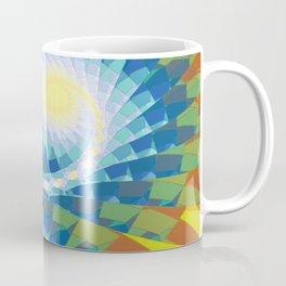 Fractal Earth Bound Design Coffee Mug