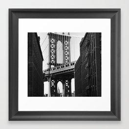 Let me Live in your City  Framed Art Print