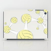 soccer iPad Cases featuring Soccer DNA by HenryWine