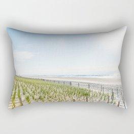 At the Jersey Shore Rectangular Pillow