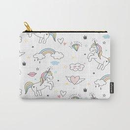 Unicorns & Rainbows Carry-All Pouch