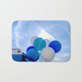 Blue Baloon Bath Mat