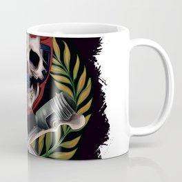 pilot skull Coffee Mug