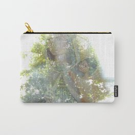 Where the sea sings to the trees - 11 Carry-All Pouch