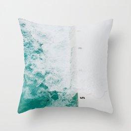 Bondi Icebergs 02 Throw Pillow