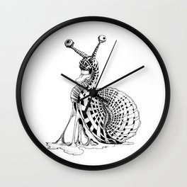 Snail Mail Wall Clock