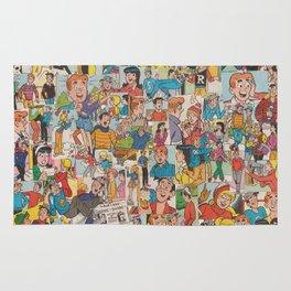 Archie Comics Collage #2 Rug