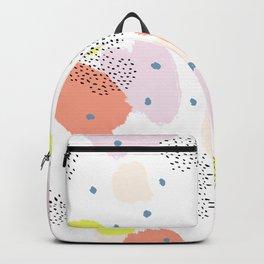 Blotchy Pattern Backpack