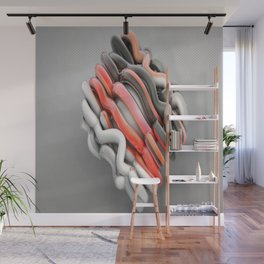Wrapped Up Wall Mural