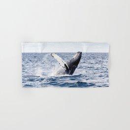 Humpback Whale Ocean Hand & Bath Towel