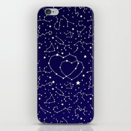 Star Lovers iPhone Skin