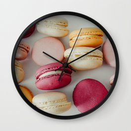 French Macaroons #society6 #decor #buyart Wall Clock