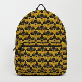 Nuclear Yellow & Black Nuke Sign Backpack