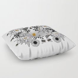 Queen Bee Floor Pillow