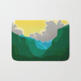 Wilkinson Mountain Pass Bath Mat