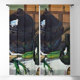 13,000px,500dpi-Felix Edouard Vallotton - Onions and soup tureen - Digital Remastered Edition Blackout Curtain