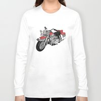 motorbike Long Sleeve T-shirts featuring MotorBike by tuncay cavdar