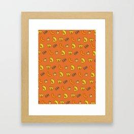 British Crisps Framed Art Print