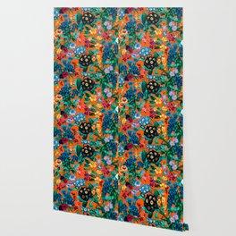 Romantic Garden VII Wallpaper