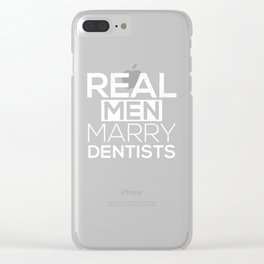 dentist dental assistant student teeth Clear iPhone Case