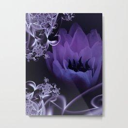 fleur du mal - lilac Metal Print