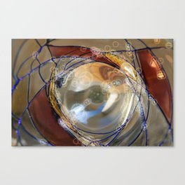 Abstract glass design  Canvas Print