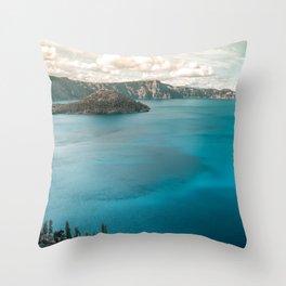 Summer At The Lake Throw Pillow