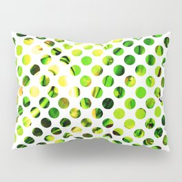Fluid Dot (Green Version) Pillow Sham