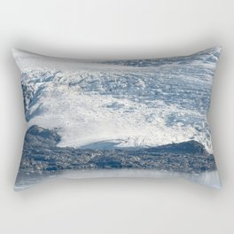 Arctic glacier, rock and icy water Rectangular Pillow