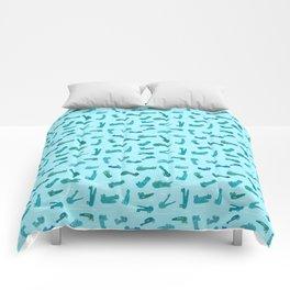 Cute crocodile Seamless Pattern Comforters