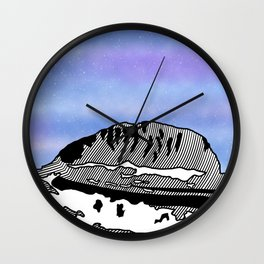 Mount Olympus Wall Clock