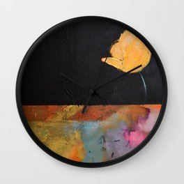 Run with the wind Wall Clock