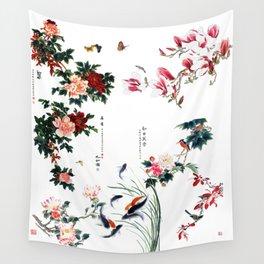 Asian Persuasian  Wall Tapestry