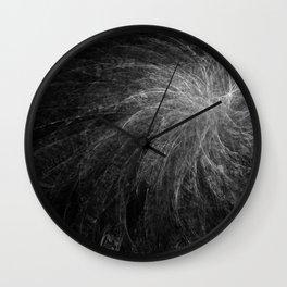 B&W Organic Spiral Wall Clock
