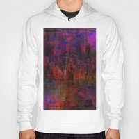 moulin rouge Hoodies featuring Rouge city by Ganech joe