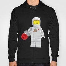 Vintage Lego White Spaceman Minifig Hoody