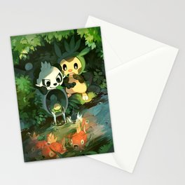 Pancham & Chespin Stationery Cards
