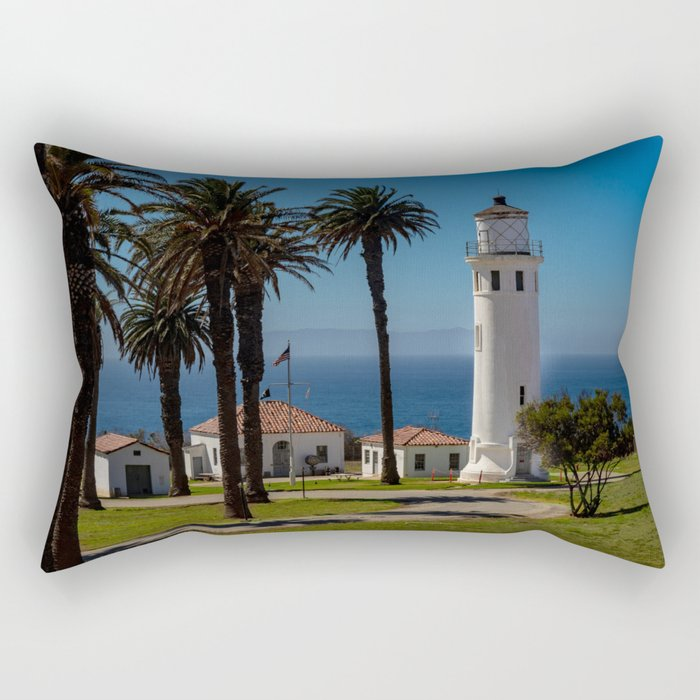Point Vicente Lighthouse Rectangular Pillow