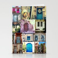 door Stationery Cards featuring door by gzm_guvenc
